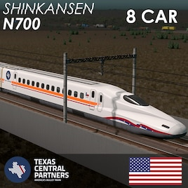 Steam Workshop :: Shinkansen N700 Texas Central (8 Cars)