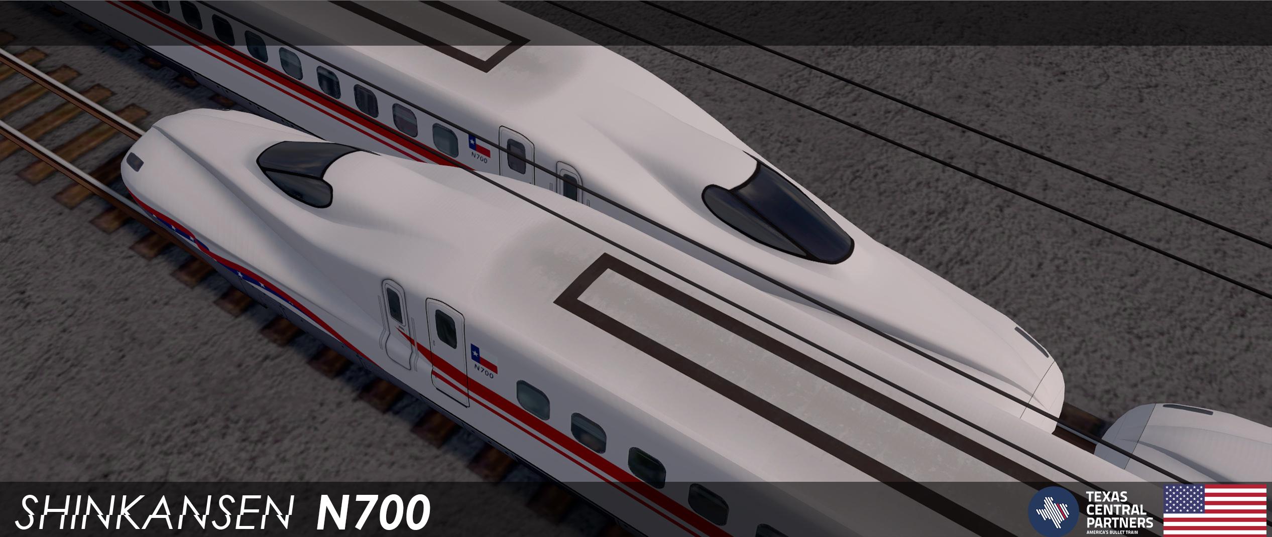 Steam Workshop :: Shinkansen N700 Texas Central (8 Cars)