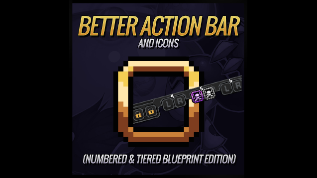 Better action bar icons numbered bar tiered blueprints edition better action bar icons numbered bar tiered blueprints edition malvernweather Gallery