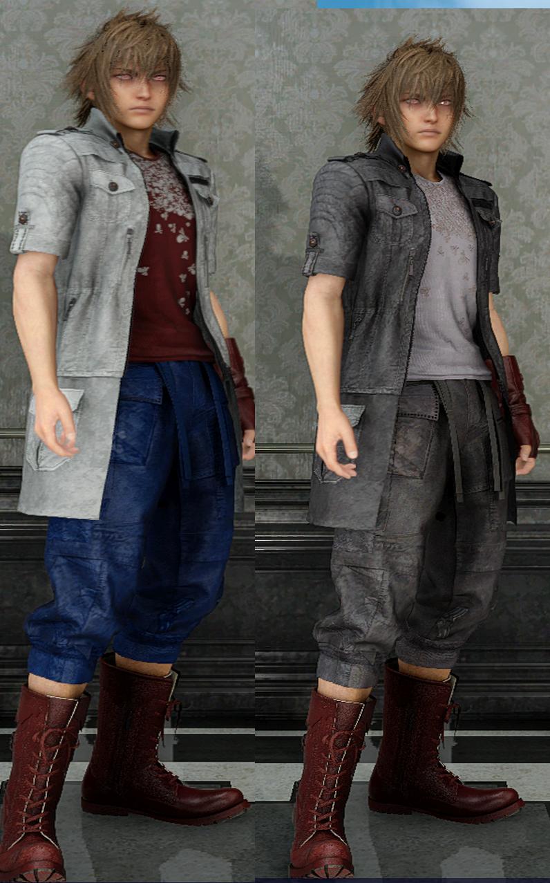 Final Fantasy XV: Windows Edition PC mod thread   ResetEra