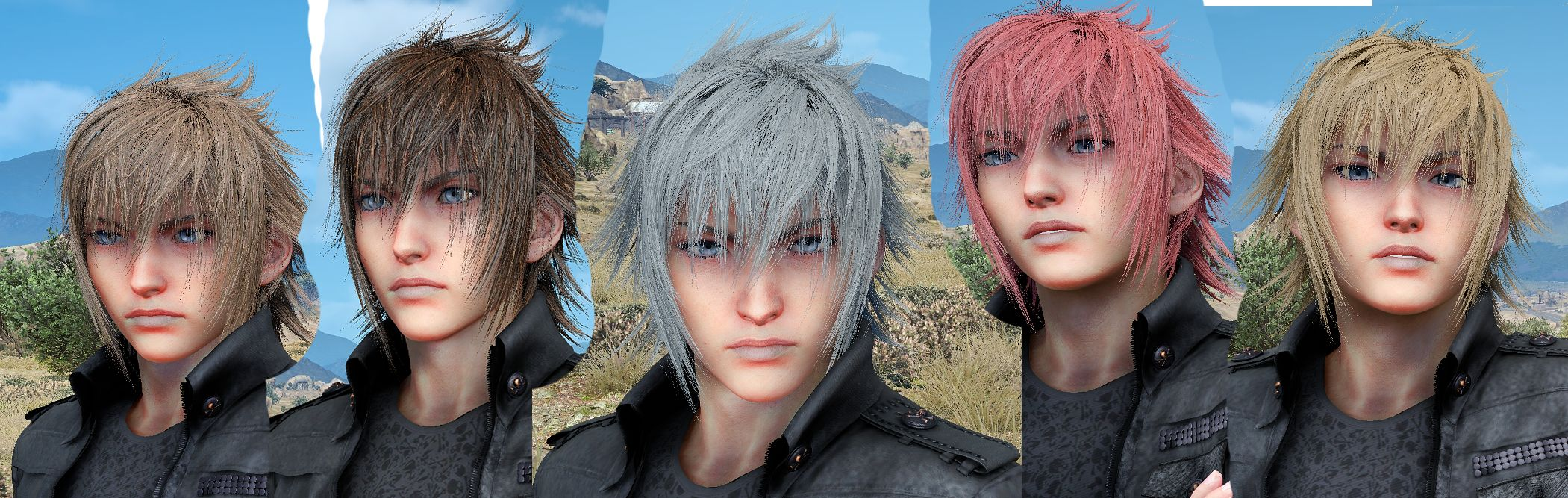 Steam Community :: Guide :: Change Noctis Hair, Eyes, Shirt