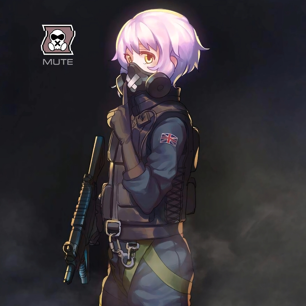 Steam Workshop Anime Mute Rainbow Six Siege