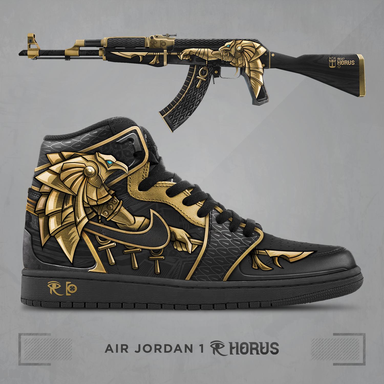 50% zniżki gładki gdzie kupić Steam Community :: :: Air Jordan 1 - Horus