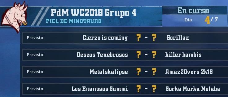 WC2018 - Grupo 4 / Jornada 4 - hasta el domingo 6 de Mayo 2CDBF13F30C6BF6BC91A12349776C98AA299875F