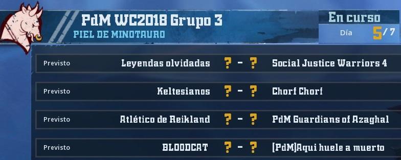 WC2018 - Grupo 3 / Jornada 5 - hasta el domingo 13 de Mayo 7FF106C299FF4C23B9D4E368E406A7E601237994