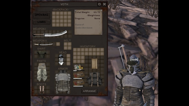 Steam Workshop :: Skeleton armor slots unlocked