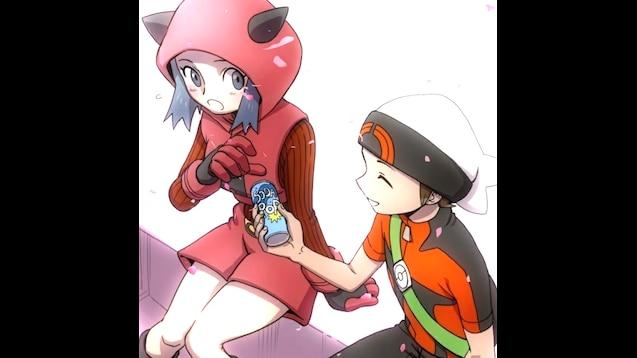 Magma girl team grunt Pokémon Omega