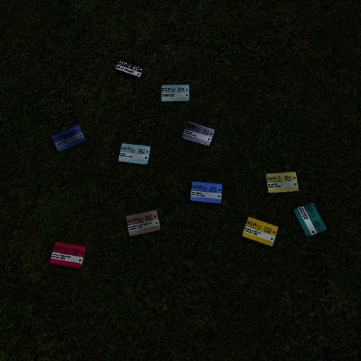 SCP:SL Keycard Models