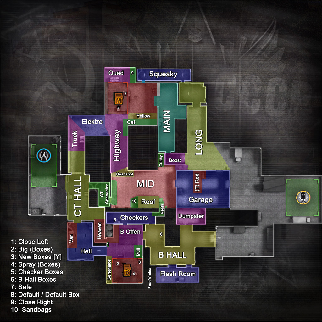 Steam Community :: Guide :: Map Call-Outs (Compeive Maps) 2018 on