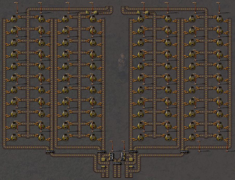 Steam Community :: Guide :: Factorio Ideal Furnace Setup