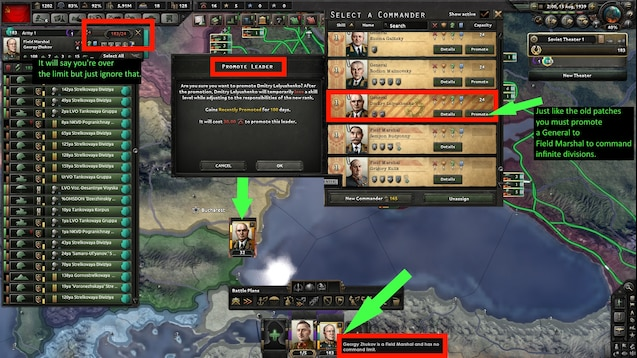 Hoi4 field marshal general traits