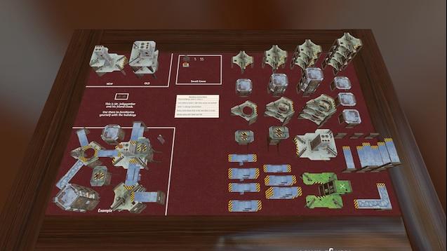 Steam-værksted :: Necromunda Box Set Terrain