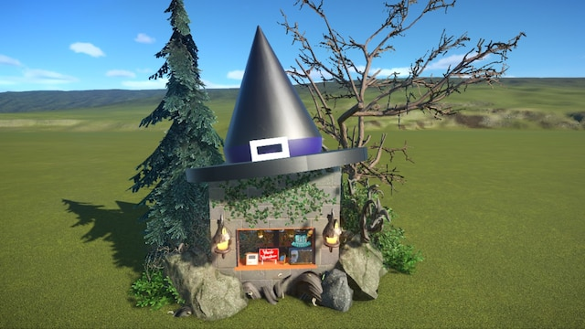 "Spooky Shop ""Witch Hat"""