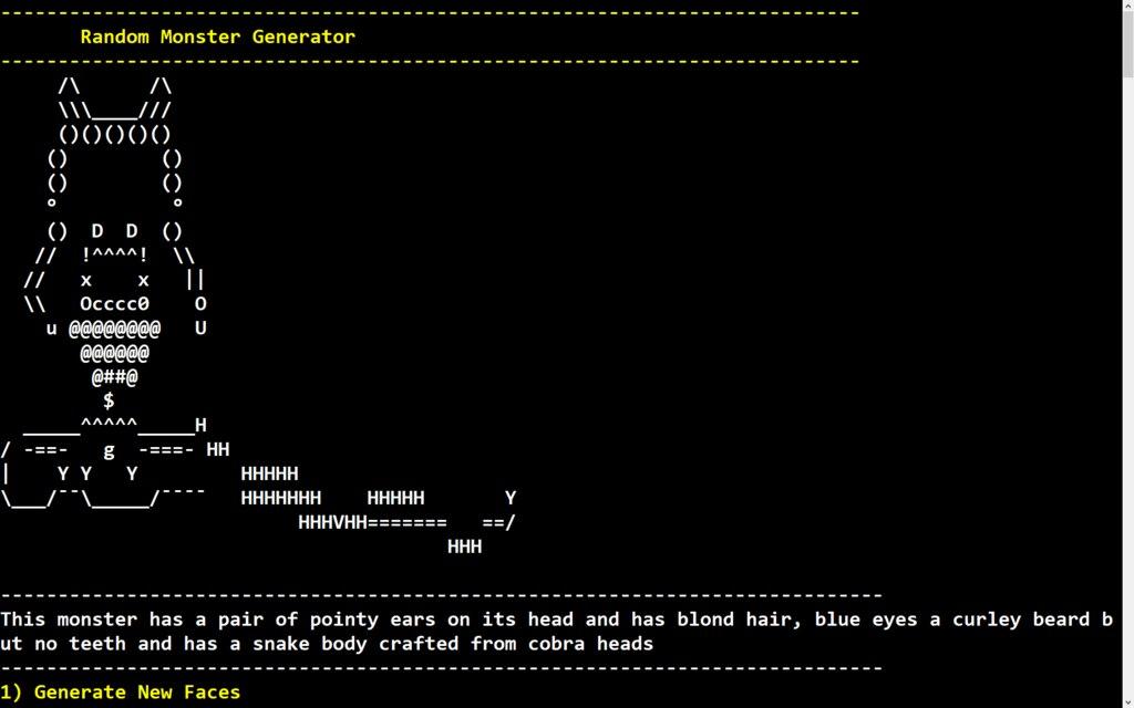 Steam Community :: :: Warsim Random Monster Generator Cable 006