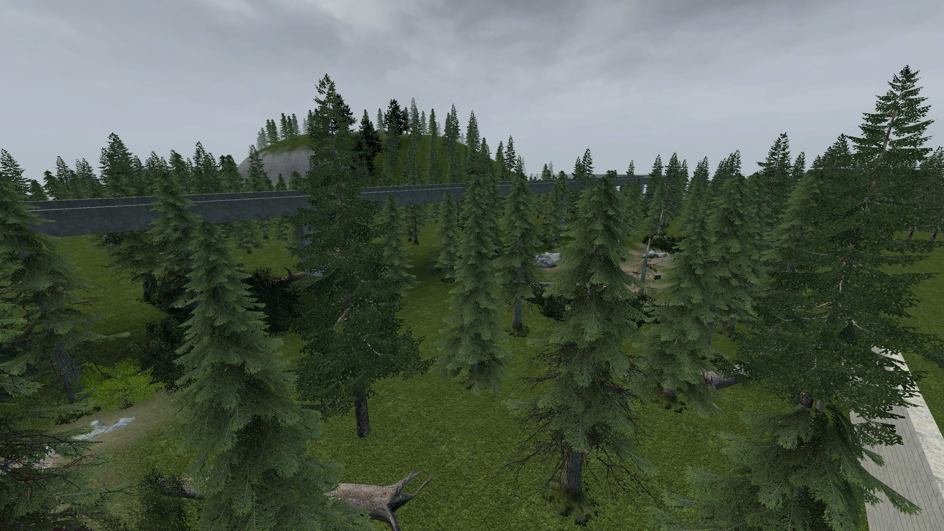 Steam Workshop :: gm_gray_forest A Large Sandbox Urban and Forest Map