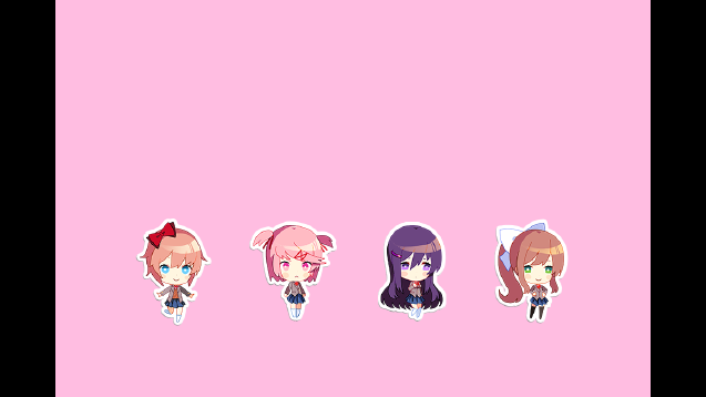 Steam Workshop DDLC Interactive Chibis