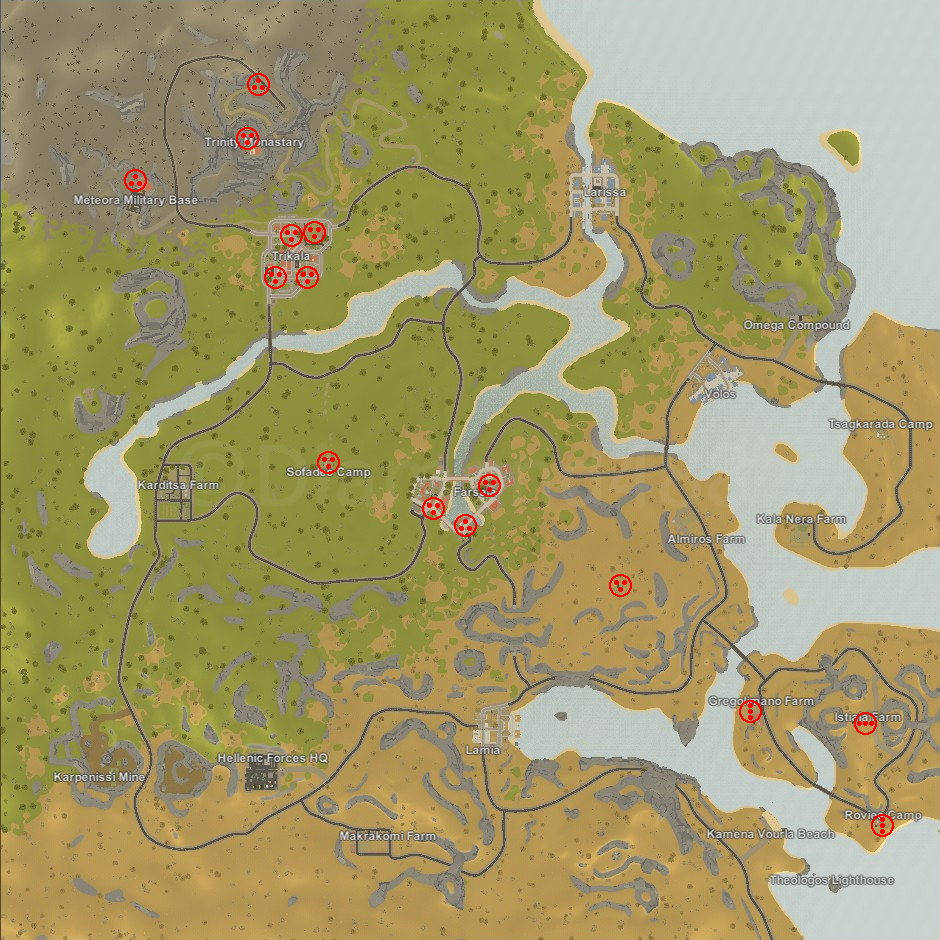 Unturned Russia Map Locations.Steam Community Guide France Airdrop Locations