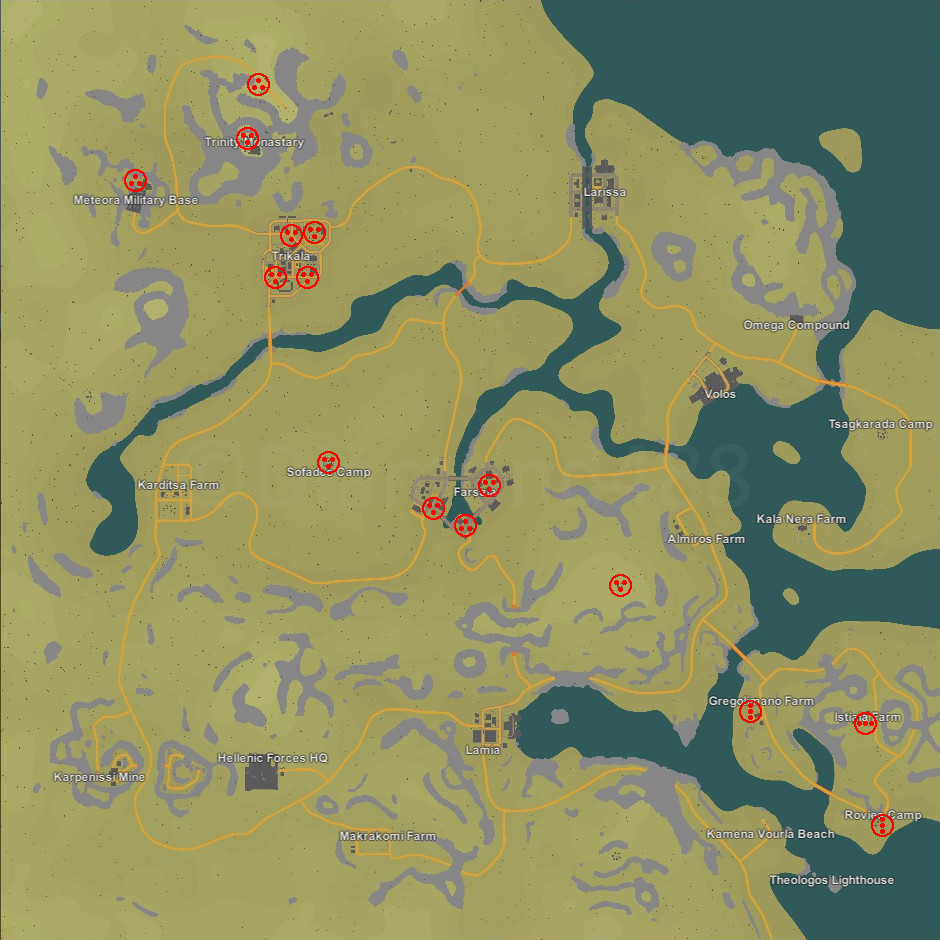 Unturned Seattle Map.Steam Community Guide France Airdrop Locations