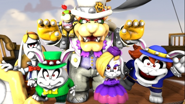 steam workshop super mario odyssey bowser pack