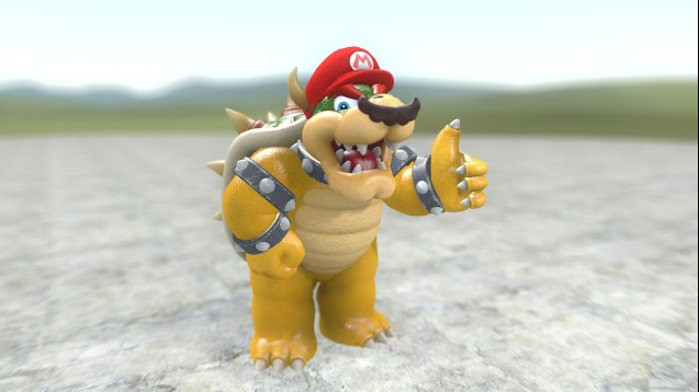 steam workshop super mario odyssey mario in bowser dupe