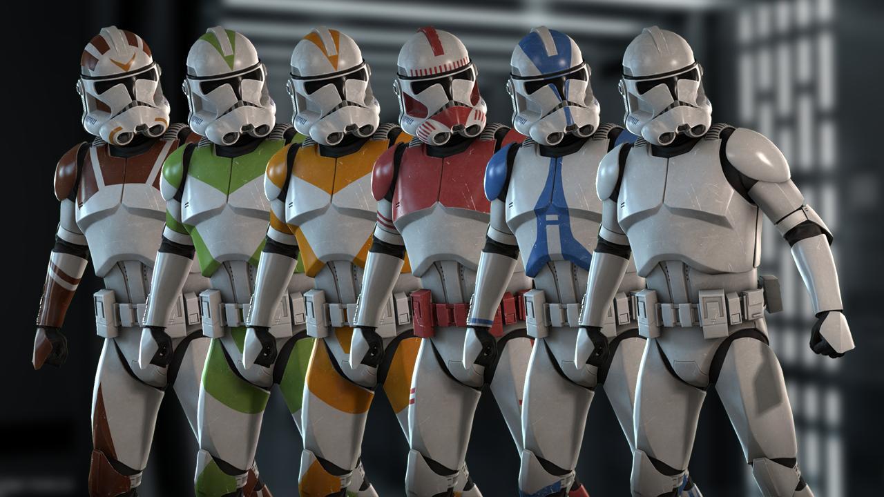 Steam Workshop :: Star Wars Battlefront 2(2017) Clone Troopers
