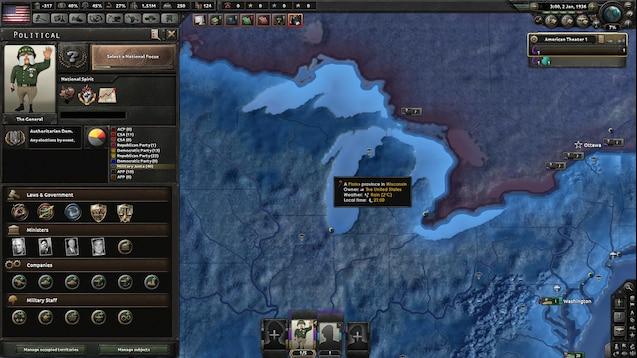 Steam Workshop :: Kaiserreich submod - MacArthur is The General