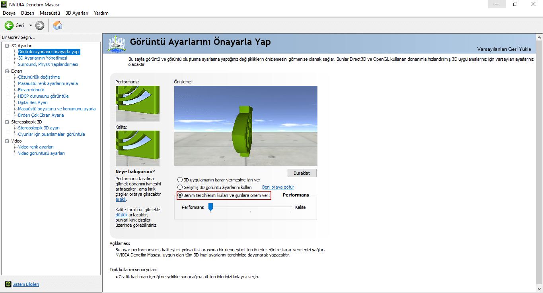 Windows sistemini optimize etme
