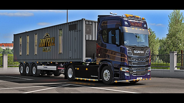 Steam Workshop :: Trainer Krone Boxiliner Container SCS
