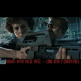 Steam Community :: LW2 ARMAT M41A Pulse Rifle (Not WotC Compatible