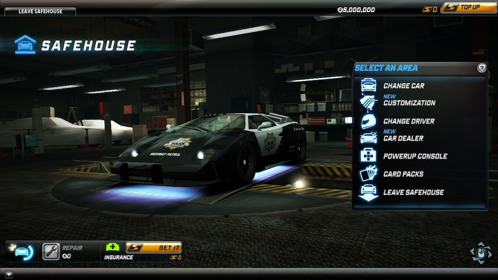 Steam Community :: :: Lamborghini Countach Cop Variant - NFS