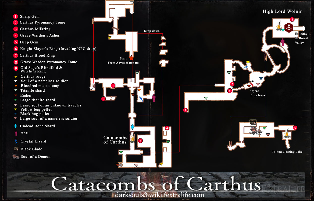 Dark Souls Catacombs Map Steam Community :: Guide :: Complete Dark Souls III Guide Dark Souls Catacombs Map