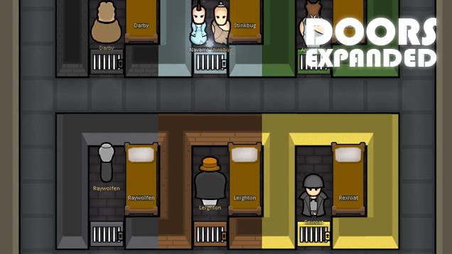 Rimworld Door Mod &