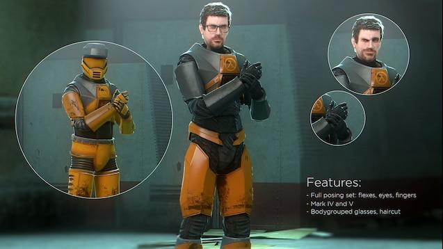 Steam Workshop Hl Gordon Freeman Redux P M And Ragdoll