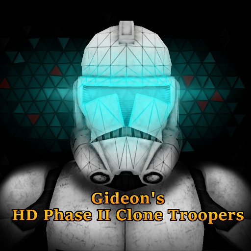 Star Wars CGI HD Phase II Clone Troopers Player Models