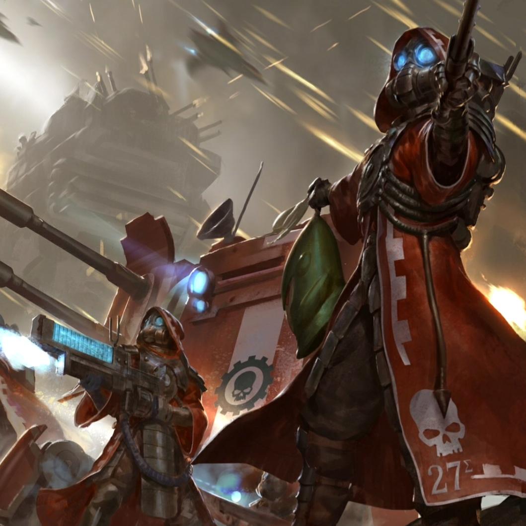 Steam Workshop Warhammer 40k Skitarii Animated