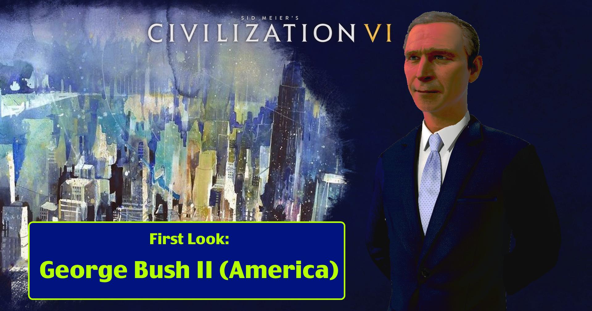 Steam Community First Look Of George Bush Ii America