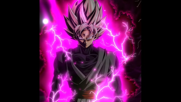 Steam Workshop Dragon Ball Super Goku Black Rose