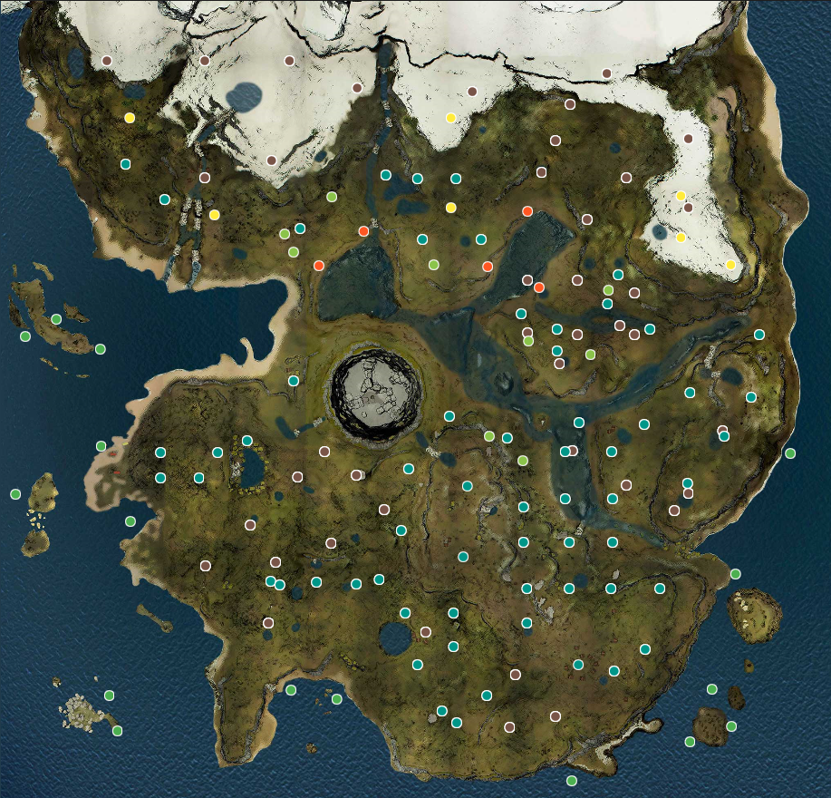 The Forest Map Steam Community :: Guide :: The Forest Map and Infos The Forest Map