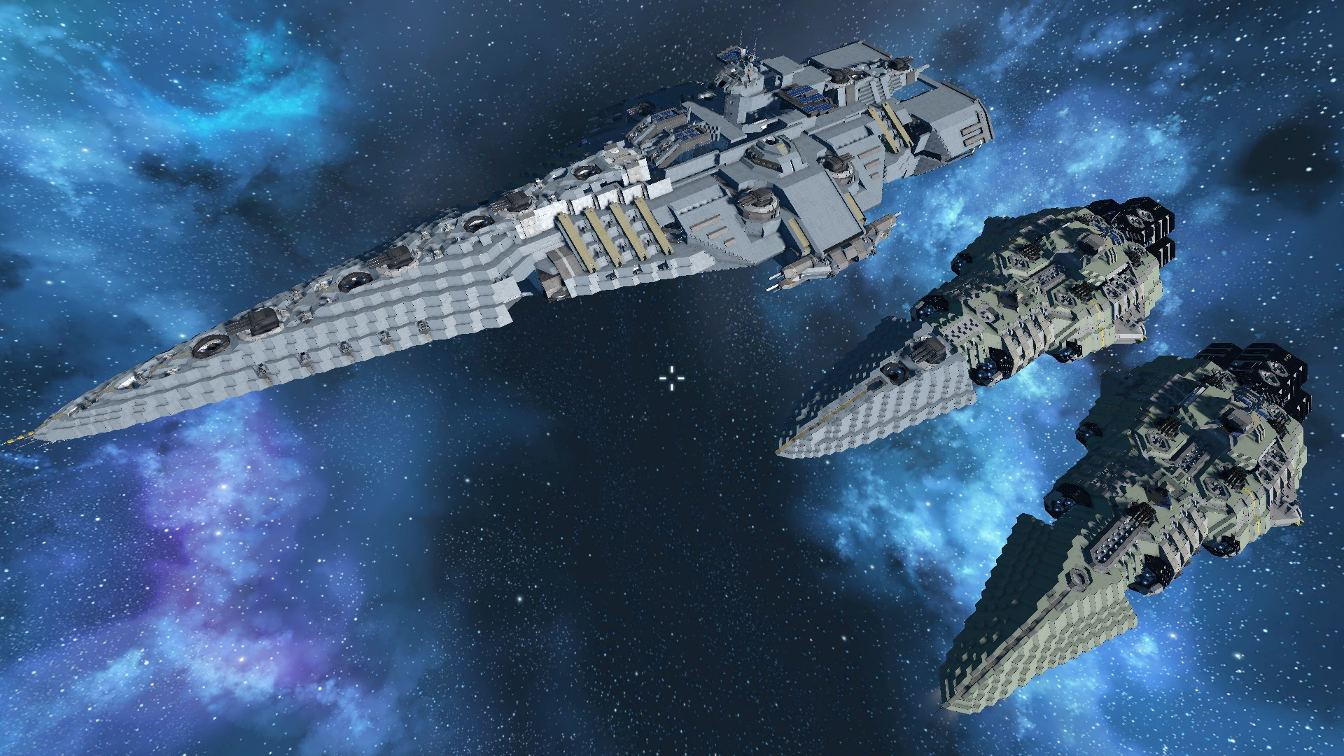 How Does One Go About Building Big Ships Keen Software House Forums