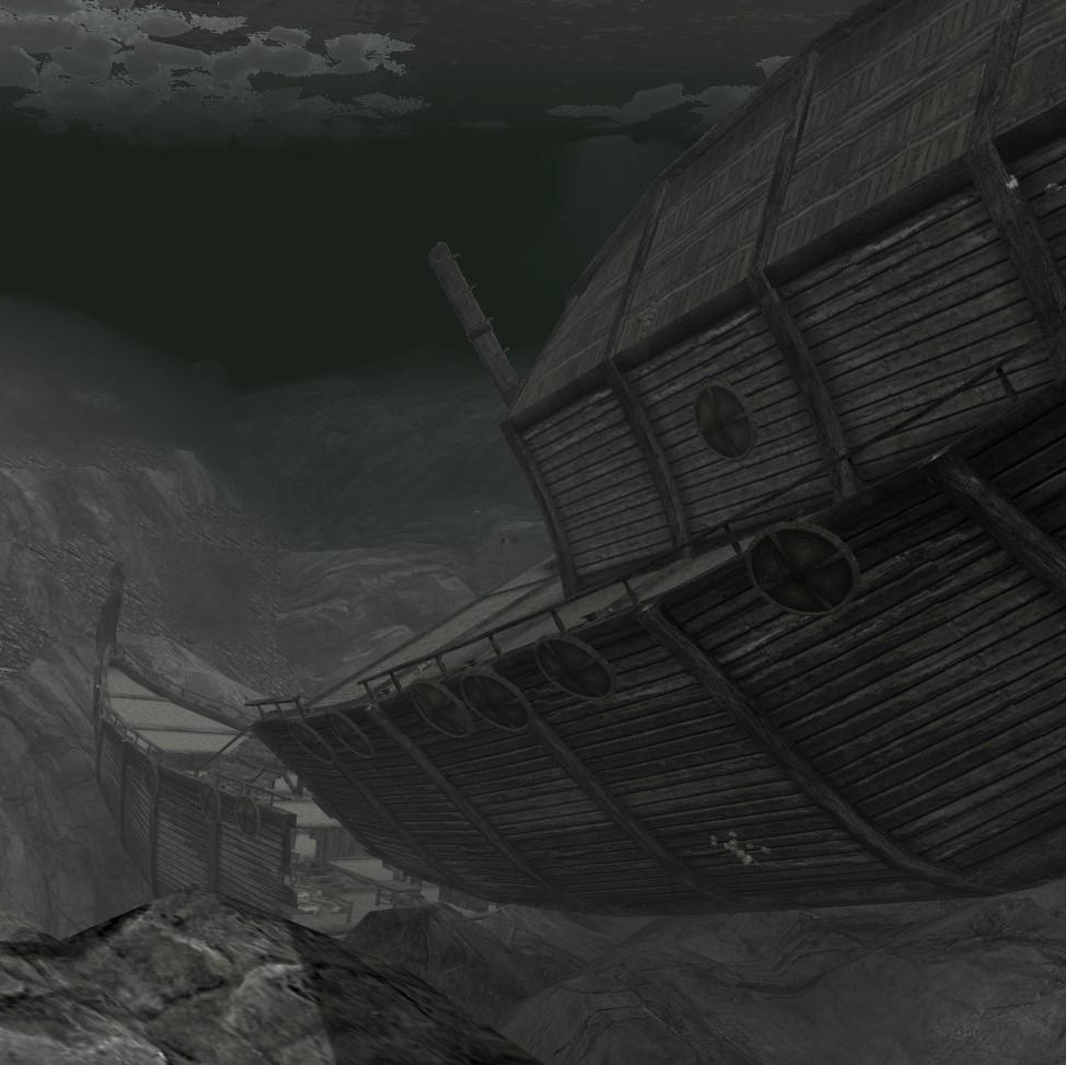 A Sunken Shipwreck画像