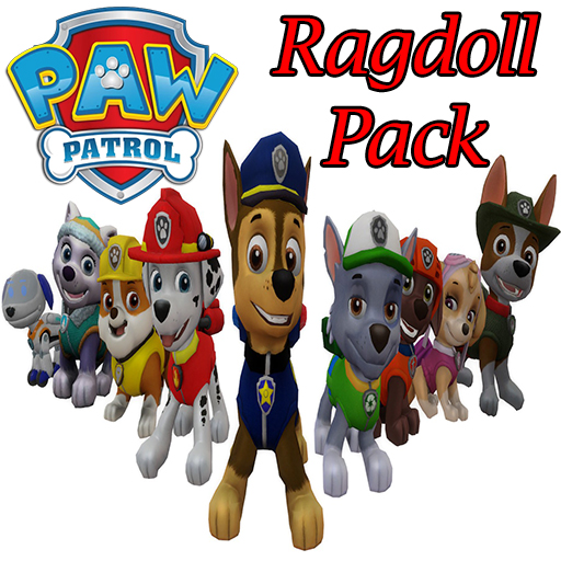 Paw Patrol Ragdoll Pack