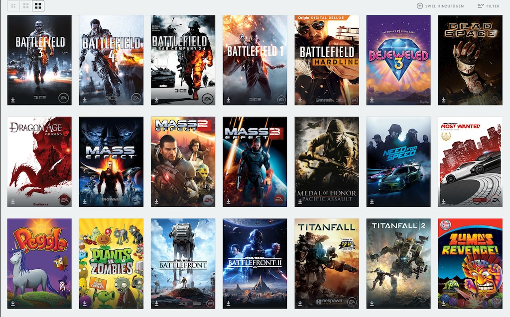 Steam Community :: :: Origin library (only mentionable games)