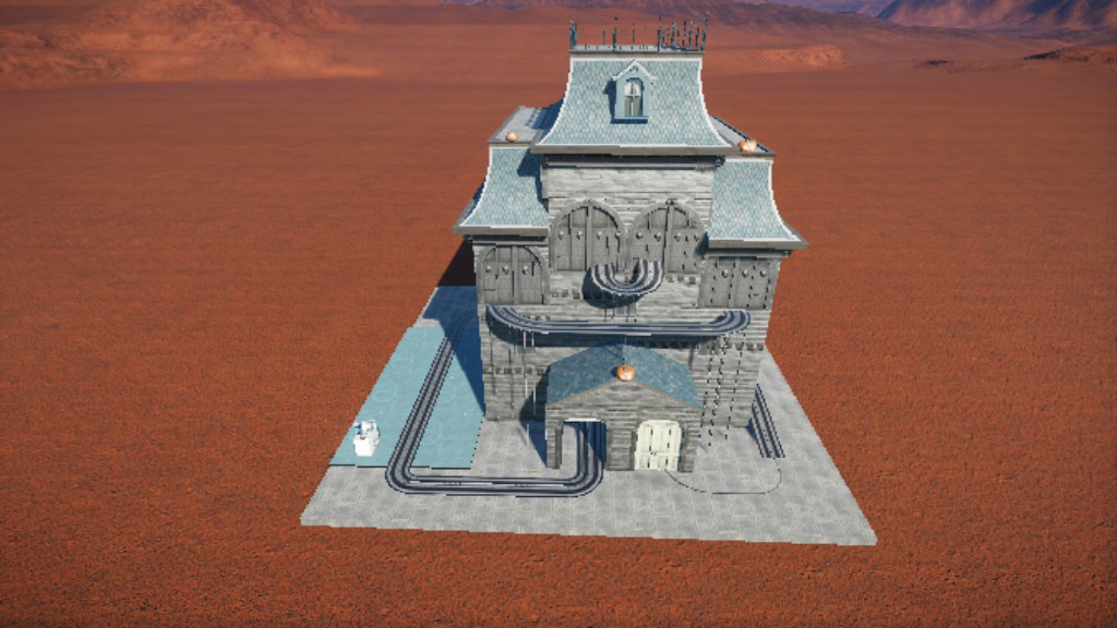 Moving Doors Rct3 & RCT3 - House Of Damnation