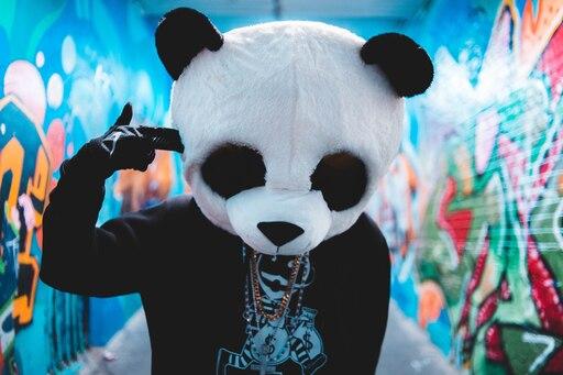 голубочкина картинки на аву маска панды на человеке которая позволяет