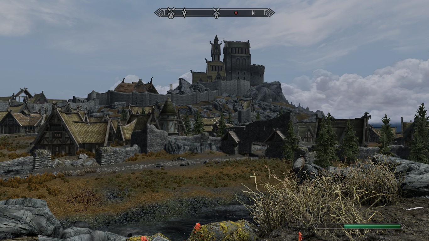 Visual Homes steam workshop :: whiterun expanded- large town outside- visual