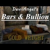DevilAngel's Bars & Bullion Gold Weight画像