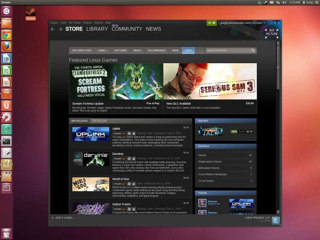 Steam Community :: Steam for Linux