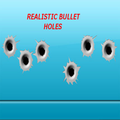 Realistic Bullet Hole Decals
