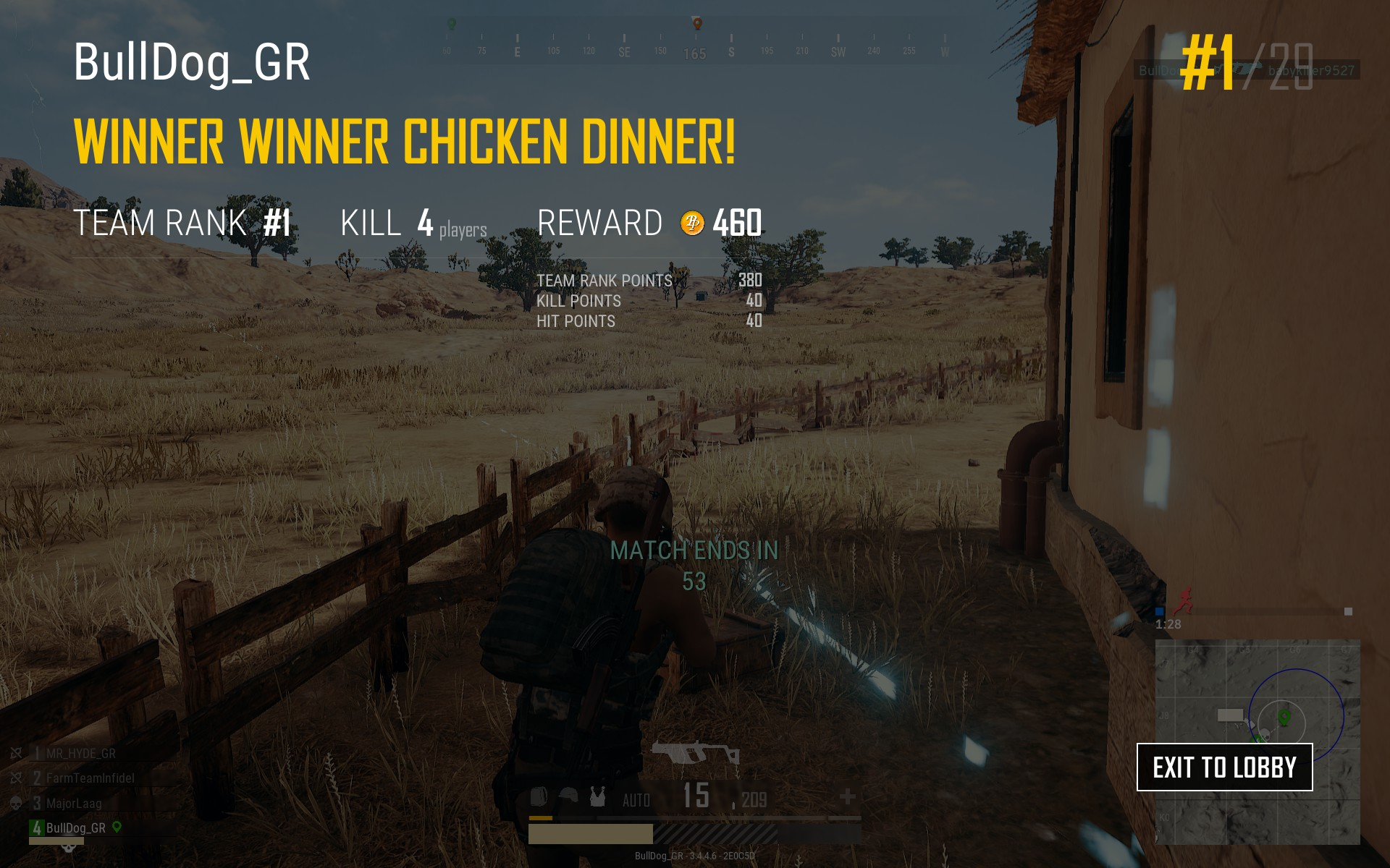 Lets see your Winner Winner Chicken Dinner screenshots! - Page 3 682A175CC3570F6D7A7F9B2EBF5739A2A22C70AB