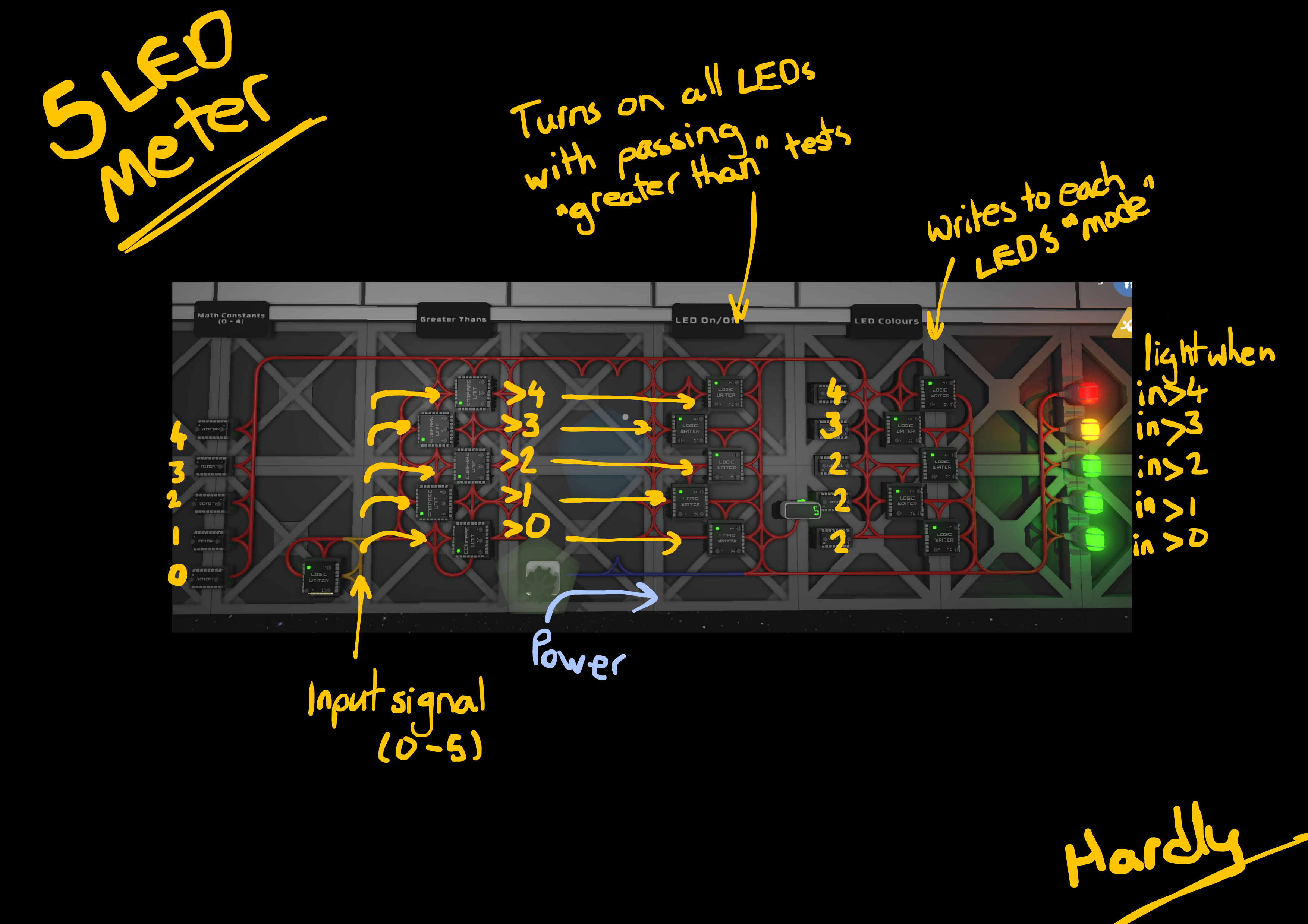Steam Community Guide Slightly Less Simple Logic Units Circuit As A Bonus Showcase When I Did This The New Low Profile Can Be Hidden Beneath Walls And Gratings Was In Beta So You Expect To
